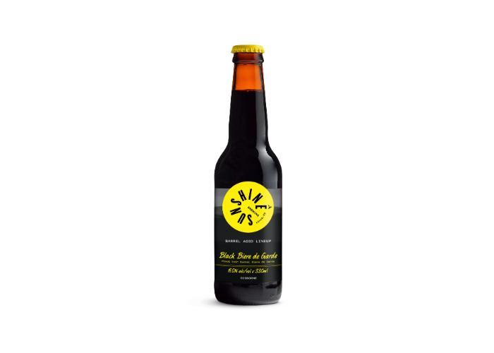 Sunshine Black Biere de Garde (6%)