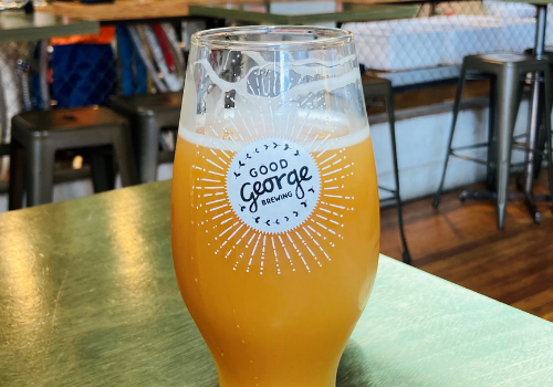 Good George Double Barrel Hazy DIPA (7.8%)