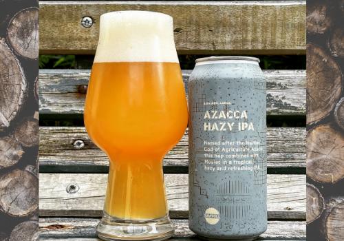 Sawmill Azacca Hazy IPA (6%)