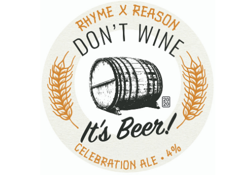 RHYME X REASON Don't Wine It's Beer Golden Ale (4%)