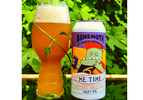 Behemoth Me Time Motueka Hazy IPA