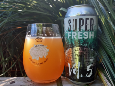 Garage Project Super Fresh Vol 5 Hazy Double IPA (10%)