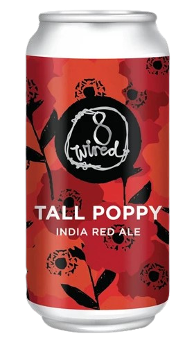 8 wired tall poppy india red ale 7%