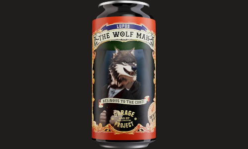 Garage Project Lupus The Wolf man Double IPA (9%)
