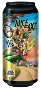 can of bach brewing juice axe hazy ipa
