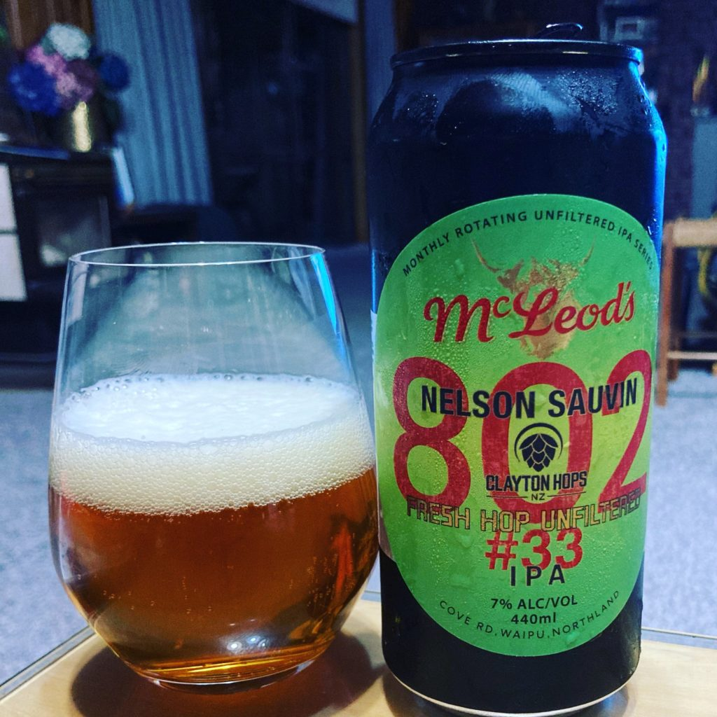 a can of mcleod's 802 series number 33