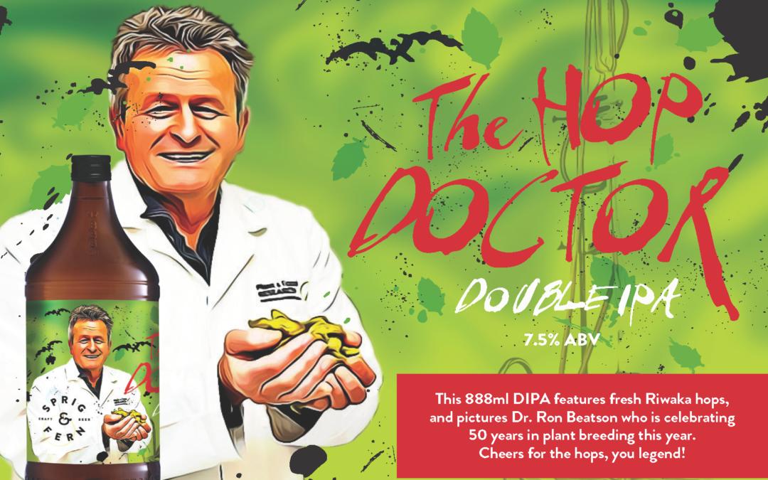Dr Hops: A beer brewed for a legend