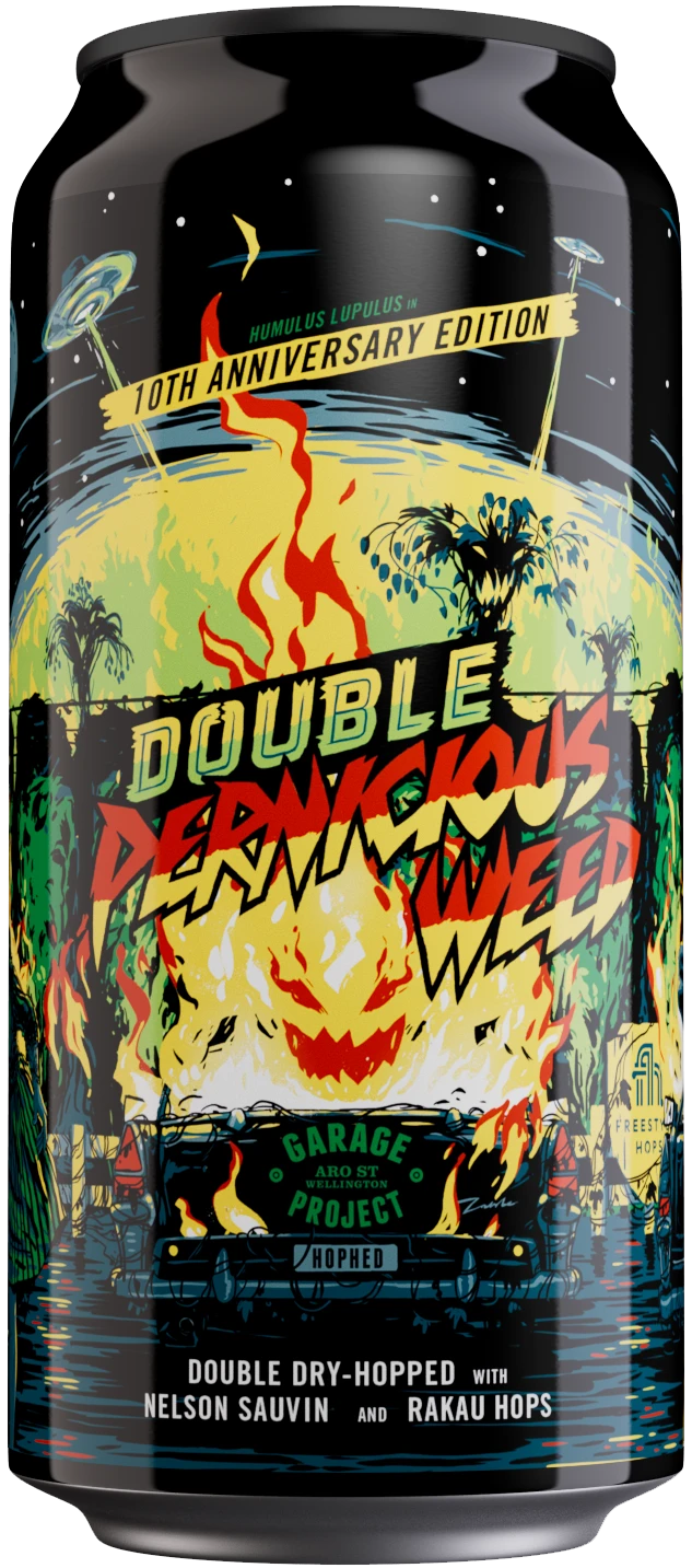 Garage Project double pernicious weed